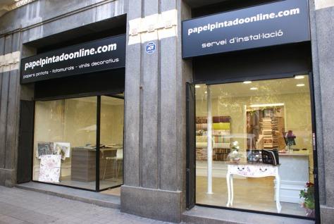 Tiendas Papel Pintado Barcelona